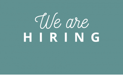 Have you heard? We are hiring!