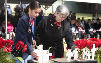 ANZAC and Field of Remembrance Service 2021