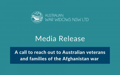 Media Release – Australian Veterans of Afghanistan